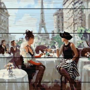 Pictura pe numere Lemn-Paris