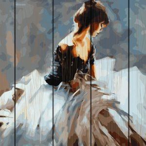 Pictura pe numere Lemn-Elegance