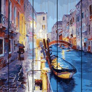 Venice-Pictura Lemn