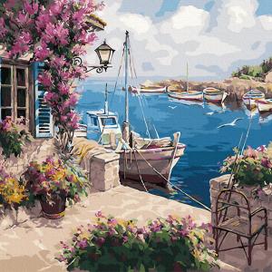 Pictura pe numere-Cote D'Azur