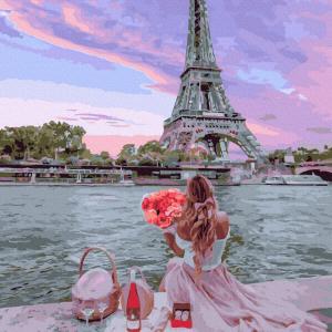 Romantic Paris-Picturi pe numere